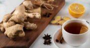 چای زنجبیل و لیمو برای سرماخوردگی ؛ درمان خانگی و موثر برای سرماخوردگی