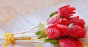 طرز تهیه توت فرنگی خشک شده ؛ نحوه خشک کردن توت فرنگی