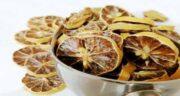 فواید لیمو عمانی خشک ؛ کاهش چربی خون با مصرف لیمو عمانی خشک