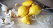 لیمو سنگی و سیر ؛ فواید درمانی مصرف ترکیب لیمو سنگی و سیر برای سلامتی بدن