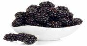 خواص توت سیاه برای پوست ؛ خاصیت پاکسازی پوست صورت با خوردن توت سیاه