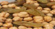 خواص نخودچی کشمش برای مردان ؛ افزایش نیروی جسمی مردان با مصرف نخودچی کشمش