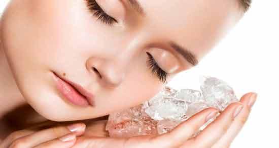 خواص یخ برای جوش ؛ درمان خانگی و سریع جوش با استفاده از یخ