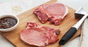 گوشت گوساله و کیوی ؛ مزه دار کردن گوشت گوساله با استفاده از کیوی